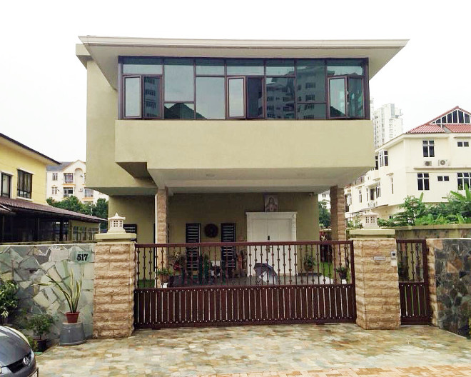 PRIVATE DOUBLE STOREY BUNGALOW
